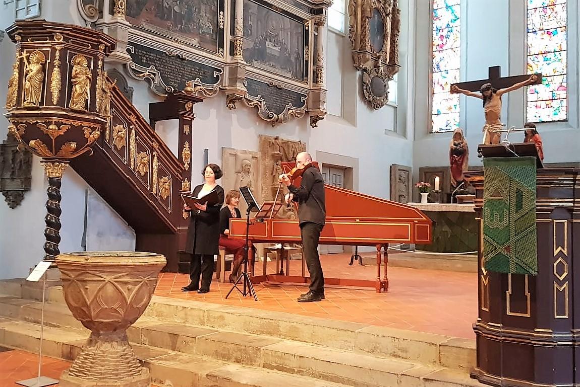 Kammermusik an Bachs Taufstein